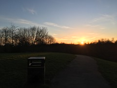Sunset over The Bongs (s1ng0) Tags: evening iphone widnes sunset