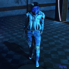 Aint Me (StyleTrendSL) Tags: xenials ad clothing hevo posesion poses bento belleza jake signature slink tmp classic jacket jeans male men blogger second life sl