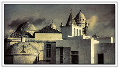 Cadiz (Spain) (williamwalton001) Tags: spain buildings sky stone church clouds texture tones pentaxart cadiz
