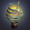 Upheaval (jaci XIII) Tags: esfera lâmpada surrealismo mão tesoura sphere lamp surrealism hand scissors