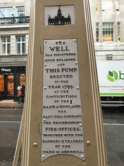Medieval well (Matt From London) Tags: cornhill pump well london water