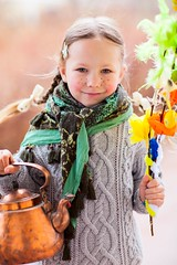 Little girl celebrating Easter (daftoresort) Tags: caucasian girl happiness happy leisure lifestyle outdoor people young adorable child cute kid little person beautiful female one colorful cheerful childhood face joy portrait smiling closeup small youth tradition traditional decorated toddler funny color spring branch finland easter finn finnish makeup willow