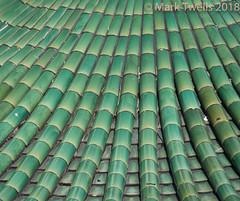 Temple tiled roof (Mark Twells) Tags: green roof tile kekloksi ayeritam pulaupinang malaysia my