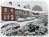 Snowy spring day, Derry/Londonderry. (willieguildea) Tags: snow street houses dwellings cars spring nikon derry londonderry ireland ulster
