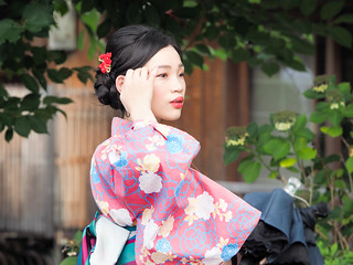 Charming young lady..Kyoto