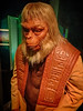 Costume worn by Maurice Evans as Dr. Zaius in the original film Planet of the Apes 1968 (mharrsch) Tags: drzaius planetoftheapes sciencefiction film movie cinema orangutan ape mopopmuseum seattle washington mharrsch costume