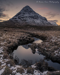 Buachaille Etive Beag - Curves (.Brian Kerr Photography.) Tags: scotland scottishlandscapes scottish scotspirit scottishhighlands scottishlandscape highlands buachailleetivebeag visitscotland visitbritain glencoe reflections curves snow winter weather sunset landscapephotography landscape photography outdoor outdoorphotography opoty nature naturallandscape natural briankerrphotography briankerrphoto a7rii firecrest ultra formatthitech sony sonyuk sonya7rii mountains mountain zeiss21mm loxia zeiss