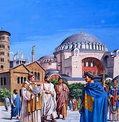 Byzantium (daan59) Tags: byzantium constantinople istanbul cathedral mosque emperor church throne