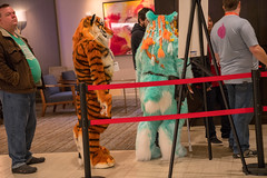 DSC01653 (Kory / Leo Nardo) Tags: furry fursuit suiting dance party dj con convention further confusion fc san jose marriott center 2018 fc2018 pupleo leo kory fur costume costuming cosplay animals