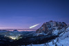 Shooting Star (chromecastapod) Tags: altoadige europe sassdestria valgardena alps altabadia astronomy astrophotography dolomites dolomiti earth italian italianalps italy lavilla landscapephotography leonidmeteorshower leonidis metoer milkyway mountains nightphotography nightsky nightscape sapce shootingstar shootingstars sky snow southtyrol stars thedolomites winter workshops bigdipper starlight stargazing ursamajor