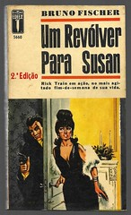 "1965 - Um Revólver Para Susan / Kill To Fit - Bruno Fischer (""The Brazilian 8 Track Museum"") Tags: alceu massini vintage collection editormex pulp fiction noir novel rick train livro bolso"