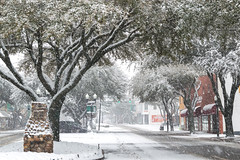 Let it snow (AppStateJay) Tags: nikon d3200 sigma 1750mm f28 ex dc os hsm apsc downtown forest city snow snowfall winter 2018 rutherfordcounty nc northcarolina
