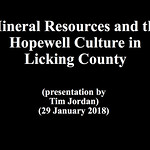 Mineral Resources and the Hopewell Culture in Licking County thumbnail