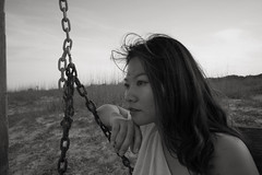 In the valley of the missing link (chinese johnny) Tags: bw blackandwhite beautiful beauty beautifulgirl chinese chinadoll chinesegirl sad sensual ambient autobiographical woman windy beach tybee savannah georgia emotive emotion monochrome moody melancholy heartbroken hair longhair lyrics leica leicam9 longing lovely lonely love location m9 photoshoot portraitsession intimate dark dreamy girl bobdylan notimetothink
