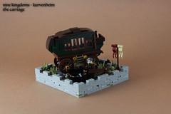 Nine Kingdoms - The Carriage (modestolus) Tags: roguebricks rpg roleplaygame lego legomoc legobrick legobuilding legonerd legominifig legorpg afol moc minifig minifigs kurvenheim carriage