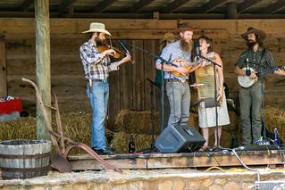 Bluegrass musicians - Hagood Mill, Pickens S.C.