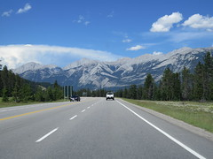 Highway 16 just to the northeast of Jasper, Alberta (jimbob_malone) Tags: 2017 highway16 alberta