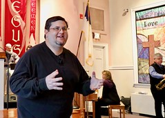 Worship Service with Dr. Ron Fay (1/28/2018) - Benediction (nomad7674) Tags: sermon preach preaching teach teaching dr doctor ron fay roncfay pastor 2018 20180128 january beacon hill church efca evangelical free monroect monroe ct connecticut worship service sunday