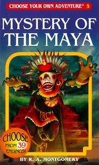 Mystery of the Maya (Vernon Barford School Library) Tags: ramontgomery r a montgomery plotyourownstory chooseyourownadventure interactiveadventures interactive adventure adventures mexico maya mayans fantasyfiction sciencefiction ancientcivilizations vernon barford library libraries new recent book books read reading reads junior high middle vernonbarford fiction fictional novel novels paperback paperbacks softcover softcovers covers cover bookcover bookcovers 9781933390055