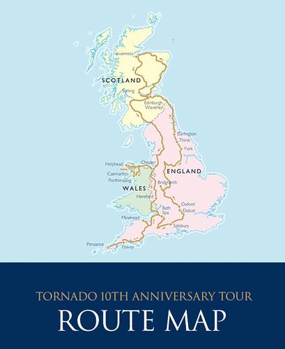 GREAT BRITAIN STEAM TRAIN TOUR