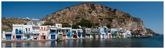 a panorama of Klima (al3x!s) Tags: anthropic architecture beach black blue brown building cliff color colour cyclades d750 door gray greece green grey harbour island landscape lighthouse milos nature nikkor35mm nikon nikond750 oldtown orange outside panorama photo pink red reflection sea shutter sky sunlight town travel turquoise urban wall water white window windows wood yellow klima gr