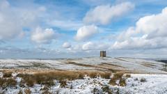 Winter at Lyme (Maria-H) Tags: snow winter lymepark lymecage disley stockport cheshire england uk olympus omdem1markii panasonic 1235