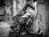 IMG_0588 (aochlesia13) Tags: monochrome marseille urbex sensuel church eglise ruine provence sigma art canon eos80d contrast beauty pose pretty sensualité nuances ruin sensuality blondehair modele glamour