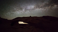 Arching in the Sky (Ken Krach Photography) Tags: mesaarch canyonlandsnationalpark milkyway