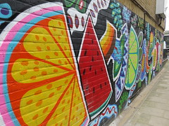 UK - London - Camden - Street art - Fruit (JulesFoto) Tags: uk england london streetart camden fruit