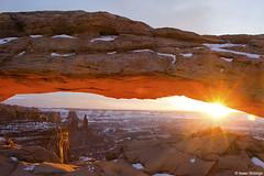 Canyonlands Kind of Morning (isaac.borrego) Tags: snow desert moab utah canonrebelt4i arch canyonlands nationalpark