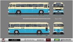 12 502 Tupi reflexo (busManíaCo) Tags: busmaníaco desenhodeônibus desenho febrabus equipepaintbus equipe paintbus