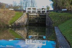 Lock Gates Kennet and Avon Canal Devizes. (Meon Valley Photos.) Tags: lock gates kennet avon canal devizes