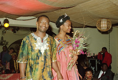 Miss Equator Club Talent & Beauty Pageant Contest Philadelphia in Celebration of the First Anniversary African Ethnic Cultural Fashion Oct 10 1993 109 YahNe Ndgo and Chef Abu (photographer695) Tags: miss equator club talent beauty pageant contest philadelphia celebration first anniversary african ethnic cultural fashion oct 10 1993 yahne ndgo chef abu