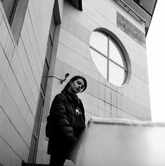 Dasha (selchukov) Tags: blackandwhite bw bwportrait bronica streetbw rollei mediumformat 120mm film