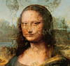 mona lisa before restoration (wolfgangfoto) Tags: color painting leonardodavinci treatment wolfgangfoto
