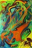Eagle Claw (MattCrux) Tags: psychedelic lsdtrip acid abstract trippy colorful rainbow lsd strange weird drug drugs weed high trip love acrylic painting acrylicpainting traditional canvas paint painted artist drawing illustration art arts expressive different beautiful artsy creativity creative