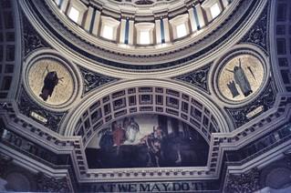 Harrisburg Pennsylvania - State Capitol - Interior Dome