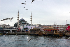 The Golden Horn and The New mosque (Svetla (ribonka 78)) Tags: travel flickrtravelaward turkey istanbul europe