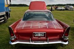 Chrysler 300C-Dodge Hybrid, 1957 (Triple-green) Tags: iphotooriginal 1957 2007 auto canon24105mm14l canoneos30d chrysler dodge hybrid schweden uscar v8 västerås
