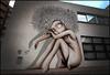 Vinie (Chrixcel) Tags: vinie streetart girl tag graff graffiti arturbainspraypaintart malakoff laréserve portrait woman