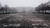 Platz des Gedenkens/Für A. (frollein2007) Tags: ehs brandenburg eisenhüttenstadt november 2012 coupeusemeier platzdesgedenkens eiskalt grau nebel fineartfahrt tristesse