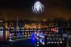 Champagne wishes and caviar dreams (maestro17ca) Tags: coquitlam lafagelake lake britishcolumbia greatervancouver nightlights longexposure nikon35mm f18 sonya6000 christmaslights reflections chandelier nightphotography cananda waterfrontdining romantic