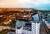 City view (Maria Eklind) Tags: view malmö street reflection spegling city sky buildings sweden malmölive streetsofmalmö skånelän sverige se