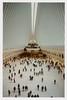 ... (Maggie J Lee) Tags: minoltaxe7 film kodak portra 400 photography newyork newyorkcity nyc epsonv600 rokkor 24mm urbanarchitecture wtc worldtradecenter oculus santiagocalatrava design