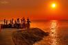 Sunset in Manila, Philippines (nigel_xf) Tags: sunset sonnenuntergang manila philippines philippinen nikon d300 nigel nigelxf vsfototeam sea meer people