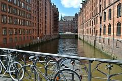 Amburgo - Speicherstadt: il canale Wandrahmsfleet dalla via Bei St. Annen (Valerio_D) Tags: hamburg 2017estate deutschland amburgo speicherstadt 1001nights 1001nightsmagiccity