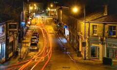 Slaithwaite By Night. (Mr_Pudd) Tags: night nightphotography slaithwaite light trails lighttrails huddersfield westyorkshire nikond750 nikon d750
