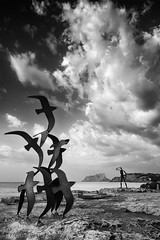 Amanecer en Moraira./ Break of Dawn in Moraira. (Recesvintus) Tags: moraira teulada alicantecostablanca spain mediterráneo mediterranean sea mar sky cielo clouds nubes paisaje landscape seascape marina recesvintus franciscogarcíaríos tokina1116 canoneos50d coastline summer verano