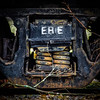 ERIE (tim.perdue) Tags: erie train car wheel spring railroad abandoned decay rust unusual junction west lafayette ohio