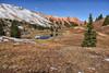 Nature's Beauty (Jim Johnston (OKC)) Tags: thebasin redmountains ponds snowcappedmountains reflections sanjuanmountains colorado corkscrewgulchtrail